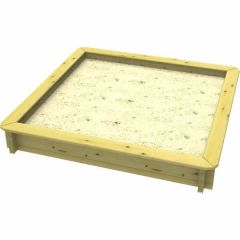 Wooden Sandpit - 2m x 2m – 295mm Height – 44mm Thick Wall