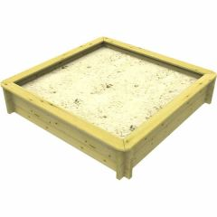 Wooden Sandpit - 2m x 2m – 429mm Height – 44mm Thick Wall